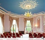 Principal rooms have been designed by Robert Adam