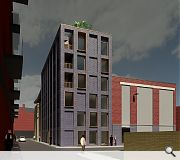 Parking spaces for cyclists and two penthouses will be provided