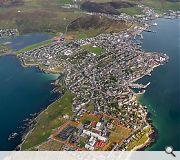 The historic character of Lerwick will be maintained by working with the grain of the existing town
