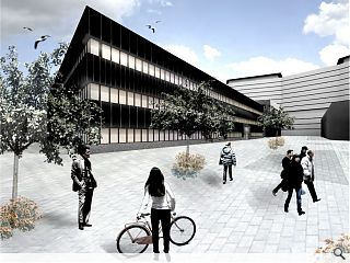 Southern General office building plans submitted