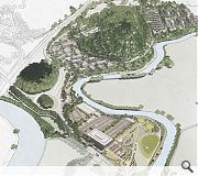 A landscape-led masterplan will work with natural features to make the most of its setting