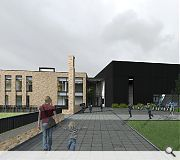 The school will take the form of two distinct wings