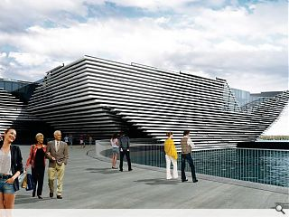 Revised Dundee V&A plans submitted