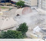 Safedem began preparations for the demolition back in March
