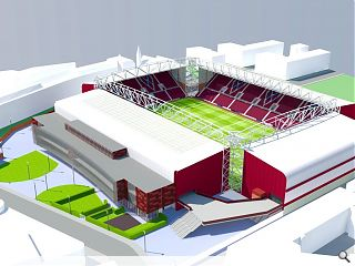 Public consultation gets underway for Hearts grandstand