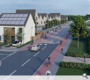 The town of Shotts would be similarly transformed