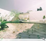 Courtyards provide a readymade social and entertainment space