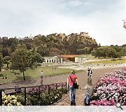 Page\Park have looked further afield to Ancient Greece and Rome for their Nymphaeum