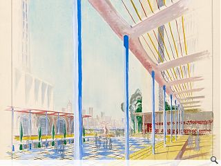 Edinburgh College of Art students embrace architectural fantasy competition