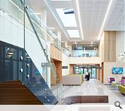 The new centre utilises natural daylight and ventilation to offer a calming environment for patients and staff