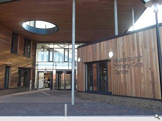 Musselburgh Primary Care Centre completes