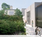 A new courtyard space will be formed