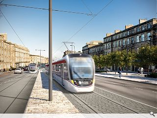 Edinburgh tram extension rolls forward to Newhaven
