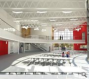 Interior spaces promise to give pupils a rush