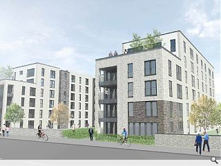 Leith Docks 'gateway' extends residential advance