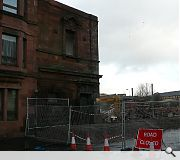 The Halls were disconnected from Springburn town centre when a dual carriageway was driven through the neighbourhood