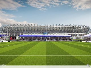 Scottish Rugby show their hand in Murrayfield expansion