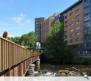 The scheme plugs into the Kelvin Walkway master plan