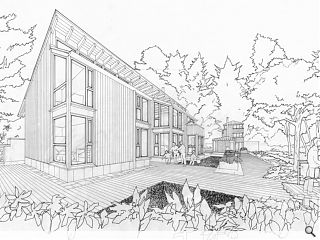 Woodland homes trio in the works for Aberfoyle