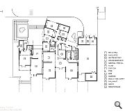 Ground floor plan for the new school