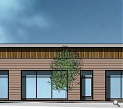 A dental surgery and retail units are planned for the greenfield site