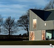 Zinc-House, Angus, LJR+H Chartered Architects