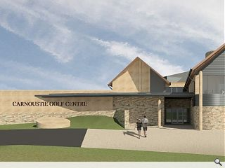 Carnoustie Links club house extension secures approval