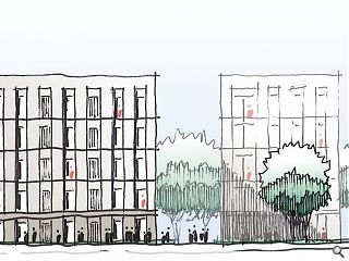 Cathcart council depot in line for 55 flats