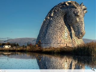World's largest horse sculptures unveiled