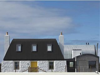 Tiree black-house redevelopment unveiled