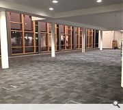 Interior fit out works are currently ongoing