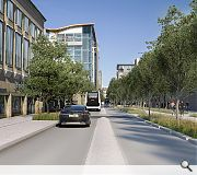 A new avenue centred on Renfrew Street will complement work to remodel Sauchiehall Street