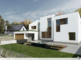 Contemporary home wins approval on Edinburgh's Corstorphine Hill