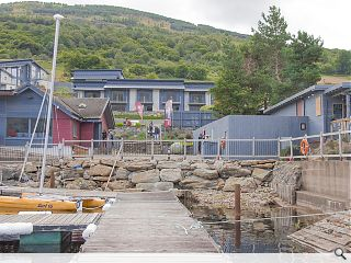 Taymouth Marina housing takes shape