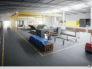 Construction innovation and collaboration facility readied for spring unveil