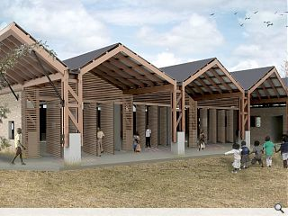 Zambian School wins planning ahead of volunteer summer build