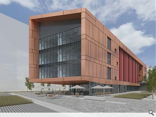 Bronze business centre to kick start Shawfield masterplan