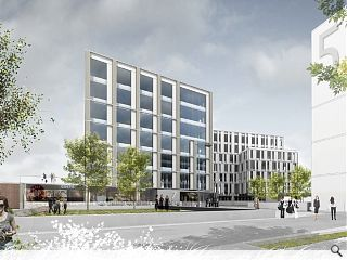 Keppie submit Central Quay plans