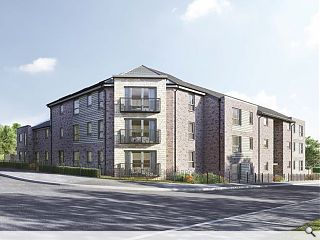 Apartment block go-ahead for East Kilbride