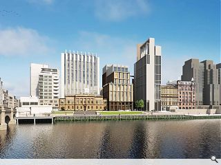 Glasgow's Custom House grows up with 'family' of new neighbours