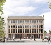 Street level windows will be removed in favour of a series of fully openable bronze doors