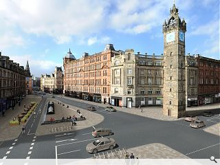 Rejuvenation of Glasgow's High Street secures council backing