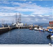 Funding will improve safety and resilience at Smeaton Mole, the outer pier of the A-listed Cromarty Harbour.