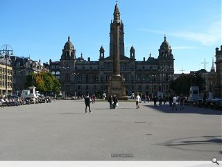 George Square re-opens following facelift