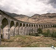 Rumour has it that a hirse and cart lie entombed within one of the Glenfinnan Viaducts piers
