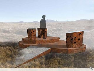 Corten viewpoint earmarked for Highland beauty spot