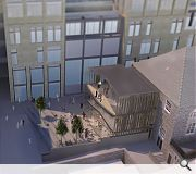 A new square is intended to tie in with the wider New Town