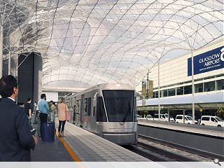 Glasgow Airport tram link on track for 2025