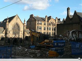 University of Glasgow completes demolition of GUU extension