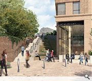 Farnell Street would have been transformed from a neglected cul-de-sac by opening up canal access